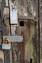 Padlock And Latch Royalty Free Stock Photography - 32056297