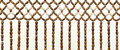 Beaded Curtain Royalty Free Stock Photography - 32060937