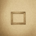 Grunge Wood Frame Background, Vintage Paper Texture Royalty Free Stock Photo - 32060995