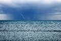 Storm Over The Ocean Stock Images - 32064644