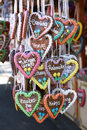 Gingerbread Hearts Royalty Free Stock Photography - 32100867
