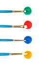 Artists Paint Brushes And Paint Stock Image - 32118261