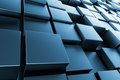 Blue Cubes Stock Image - 32122491