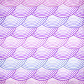 Pink Retro Fish Scales Vector Seamless Pattern Royalty Free Stock Photo - 32127905