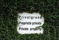 Private Property Stock Photos - 32175923