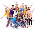 Group Sport Fan Cheer For. Royalty Free Stock Images - 32199639