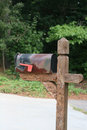 Old Mailbox Royalty Free Stock Image - 3226156