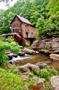 Glade Creek Grist Mill Stock Photography - 32209052