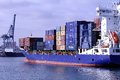 Container Ship Royalty Free Stock Photo - 32209265