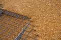 Wheat Grains On The Silo Grid Stock Image - 32209781