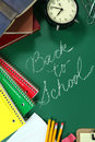 Back To School Items With Copy Space Royalty Free Stock Image - 32220076