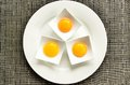 Three Eggs Royalty Free Stock Image - 32223476