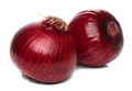 Red Onion Bulb Isolated Stock Images - 32234444