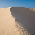 Barkhan Dune, Evening Light Stock Image - 32234771