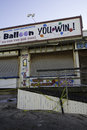 After Hurricane Sandy:  Seaside Heights, New Jersey Boardwalk Royalty Free Stock Photo - 32252415