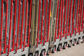 Big Delivery Trolleys Stock Image - 32263031
