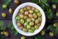 Gooseberries Stock Photos - 32268423