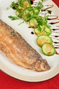 Fried Peled Fish Stock Images - 32293024