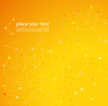 Molecule And Communication Background Stock Photography - 32294622
