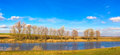 Panoramic Autumn Landscape In Sunny Day Royalty Free Stock Photography - 32296667