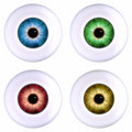 Color Eyeball Royalty Free Stock Photo - 3232335