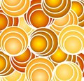 Retro Gold Circles And Hoops Stock Photos - 3234423