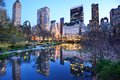 New York City Central Park Lake Royalty Free Stock Images - 32301279