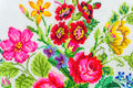 Embroidered Good By Cross-stitch Pattern Stock Images - 32308644