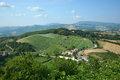 Italian Landscape In Marche - Italy Royalty Free Stock Photo - 32309785