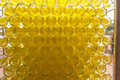 Many White Wine Bottles Densly Stacked In A Large Cage During Pr Royalty Free Stock Image - 32331226