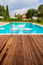 Pool In Tuscany Stock Photos - 32334583