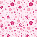 Seamless Pattern With Flowers. Royalty Free Stock Image - 32341116