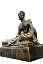 Buddha Statue Doing Self Mortification Isolate On White Backgrou Stock Photo - 32353140