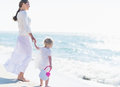 Mother And Baby Looking At Sea Stock Images - 32354574