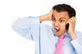 Angry On Cell Phone Stock Photo - 32373820