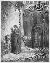 Jesus Last Days In The Temple; The Widow S Mite Royalty Free Stock Image - 32380516