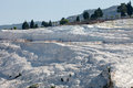 Travertine Pools And Terraces In Pamukkale Royalty Free Stock Photo - 32396025