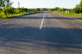 Empty Rural Road Go Away To Distance Royalty Free Stock Images - 32425049