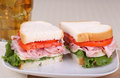 Ham And Cheese Sandwich Royalty Free Stock Photo - 32425825
