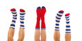 Feet In Socks Royalty Free Stock Images - 32437999