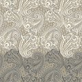 Paisley Seamless Lace Pattern Royalty Free Stock Image - 32445746