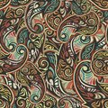 Paisley Seamless Pattern Stock Images - 32445784