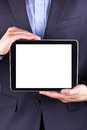 Young Businessman S Hands With Tablet Pc Stock Photo - 32468840