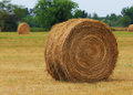 Haystack On The Field. US Royalty Free Stock Photo - 32471075