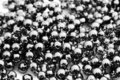 Black And White Decorative Balls Royalty Free Stock Images - 3250629