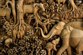 Thailand Wood Carving Royalty Free Stock Photos - 3254268