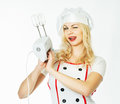 Woman Chef Royalty Free Stock Photo - 32501065