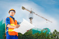 Constructor At Work Royalty Free Stock Images - 32523869