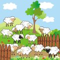 Sheeps Royalty Free Stock Image - 32543946