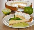 Key Lime Pie Royalty Free Stock Photography - 32551527